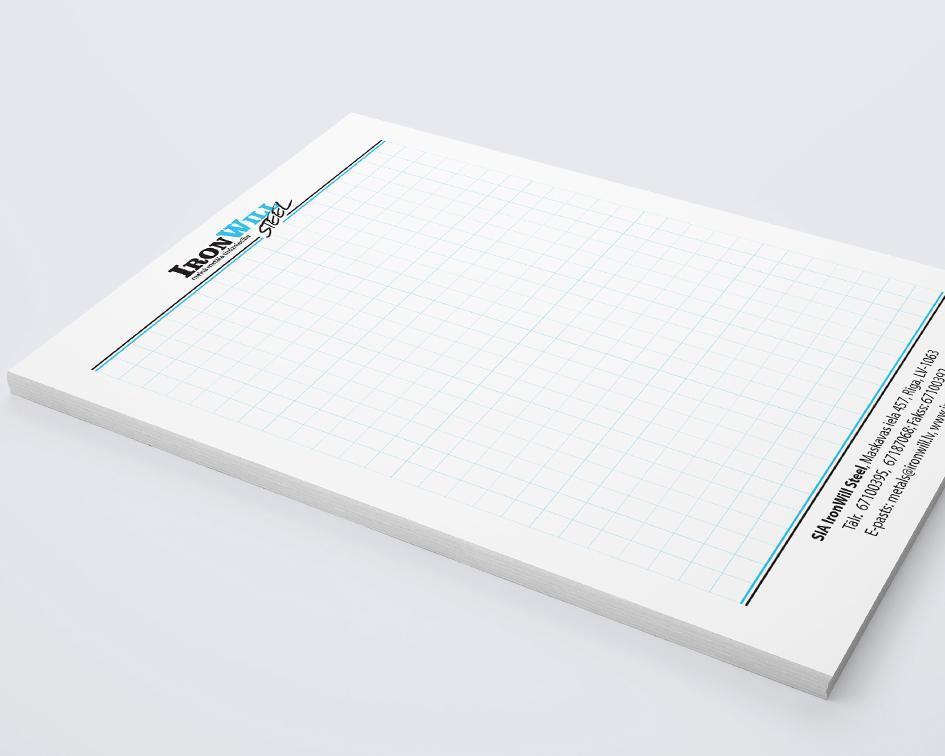 Внутренний дизайн блокнота
