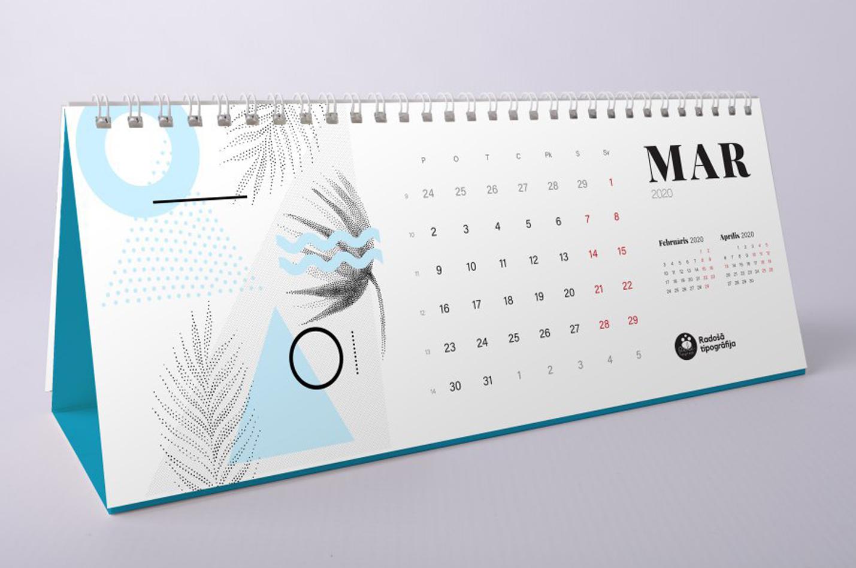kalendāri 2020. gads