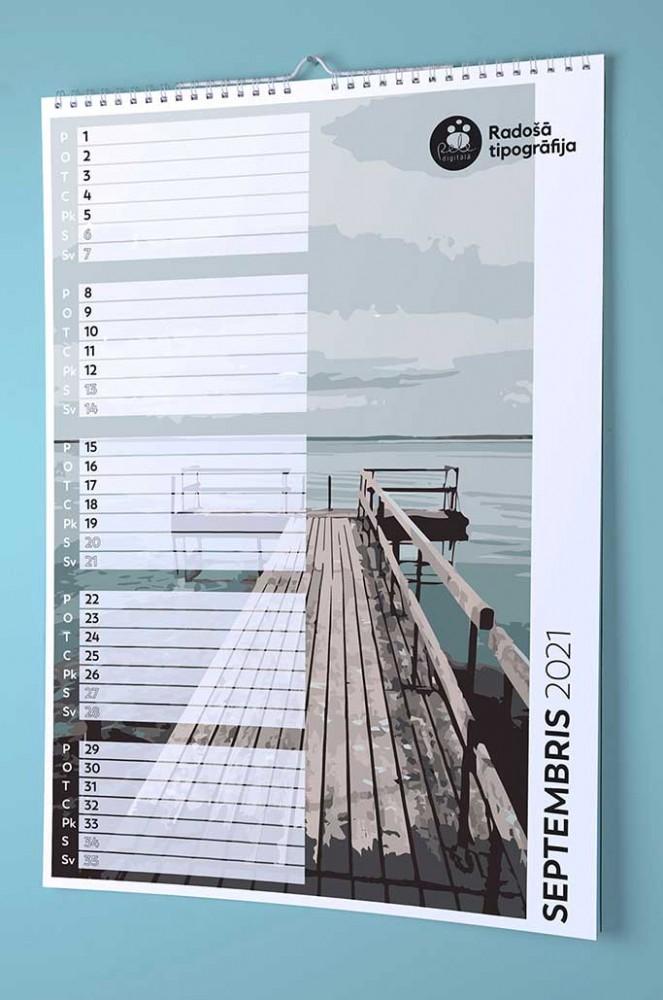 Настенный календарь для заметок