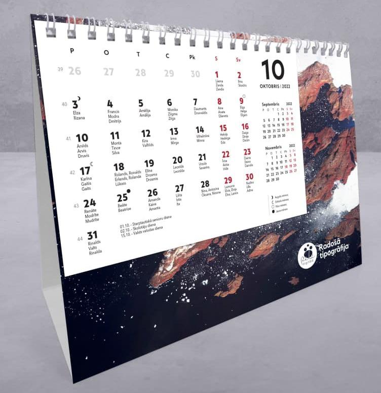 Kalendāru izgatavošana