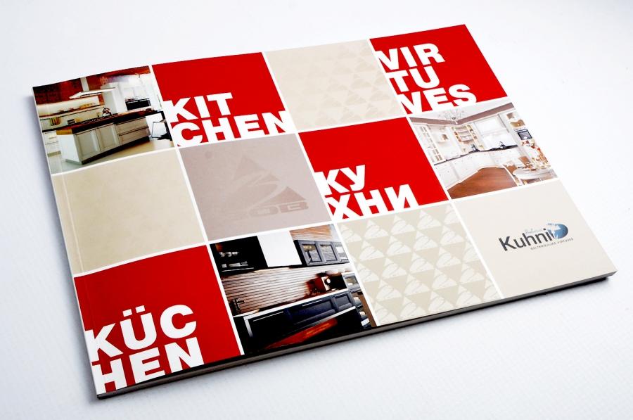 e9144caef Kuhni virtuves mēbeles ražotāja produktu kataloga dizaina izstrāde