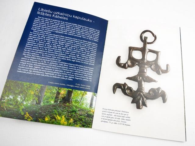 Atklājot Kābeļu kalnu brošūras dizaina izstrāde un druka
