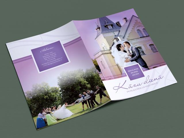 Daugavas muzejs kāzu dienas druka
