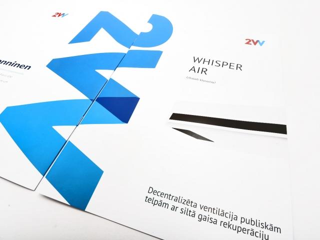 Дизайн и печать сшитой брошюры