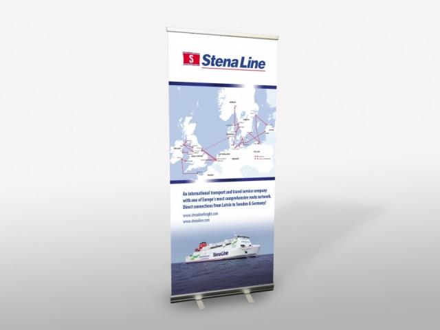 Stena Line Roll-up dizains un druka
