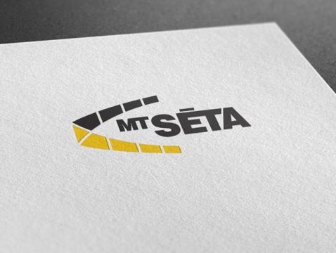MT Seta дизайн логотипа