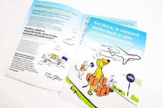PVD brošūras dizains un druka