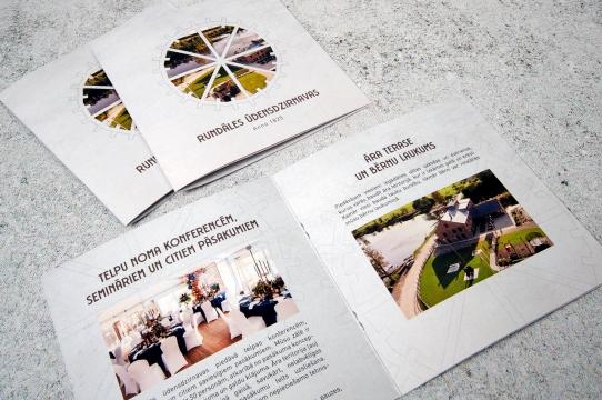 Brošūras dizains