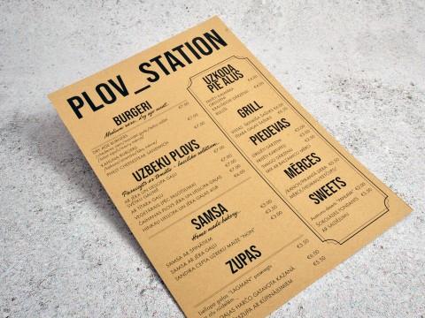 Craft papīra druka