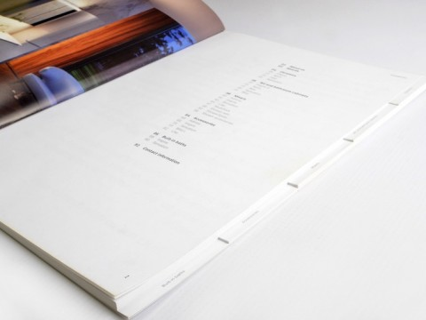 Preču katalogs ar nodalījumiem druka