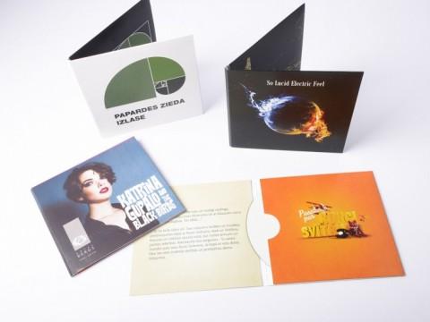 CD vāciņu izgatavošana, druka