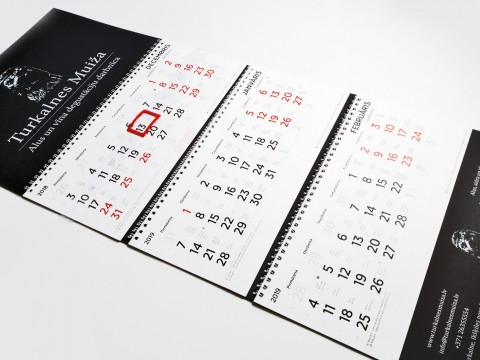 Kalendāra izgatavošana 2019