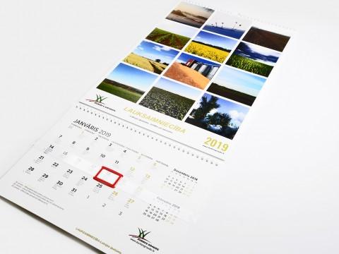 kalendāra izgatavošana