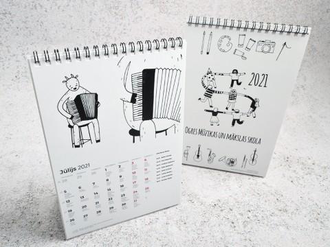 Kalendāru druka