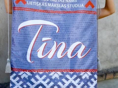 tekstila vimpelis, izgatavošana
