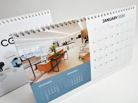 Korporatīvie kalendāri izgatavošana
