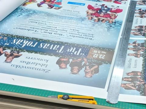 Lielformāta druka, plakāti