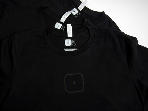 T-kreklu apdruka sietspiedē, birkas druka