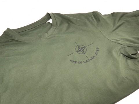печать футболки на трафаретной печати