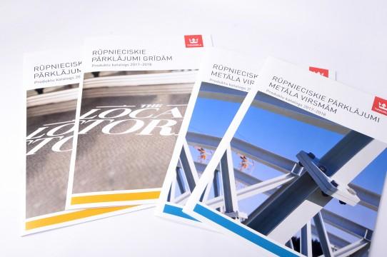 A4 brošūru druka, tipogrāfija