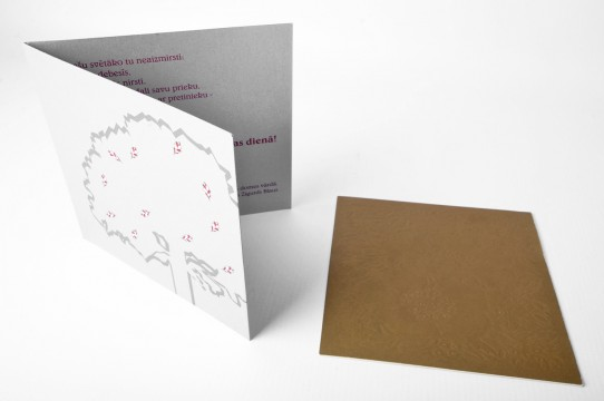 Тиснение, шелкография, открытки