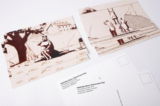 Pastkartes druka