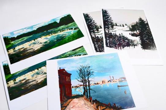 Mākslas kartiņas druka