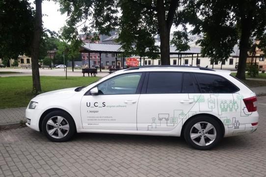 Печать на наклейках автомобилей