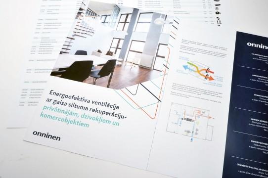 Brošūras dizains un druka