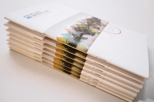 цифровая печать с брошюрой