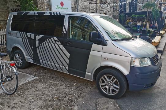 Дизайн и оклейка автобусов
