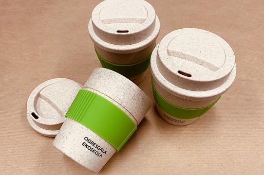 Эко-чашки с принтом