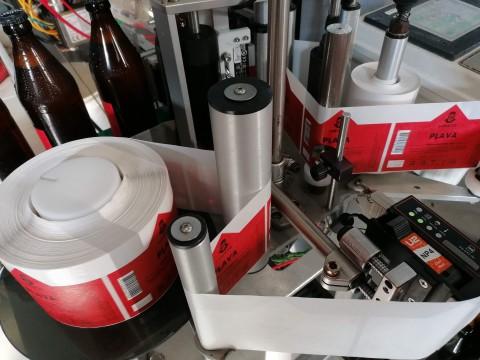 Etiķešu druka ruļļos