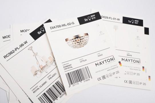 Etiķetes, preču zīmes izgatavošana