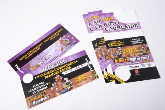 Рекламные материалы, печать листовок