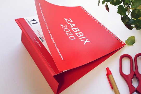 Настольный календарь 2020, печать