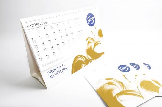 Настольные календари 2019