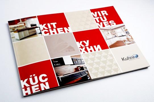 Макет каталога, графический дизайн