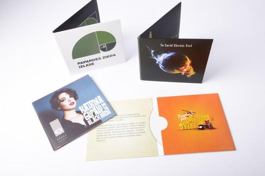 Изготовление обложек CD, печать