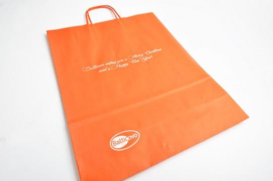 Крафт-бумажные пакеты