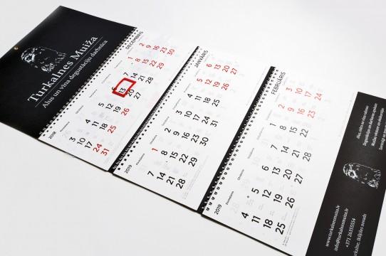 Изготовление календаря 2019
