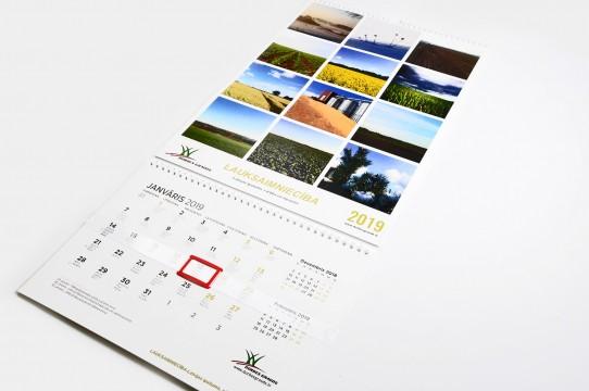 производство календаря