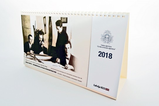 galda kalendāri kvalitatīvi izgatavošana