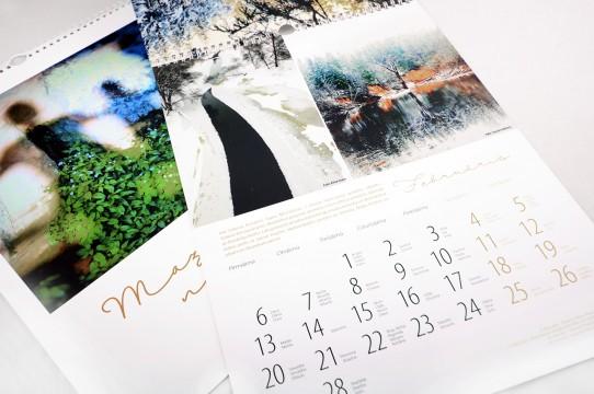 печать фото-календаря