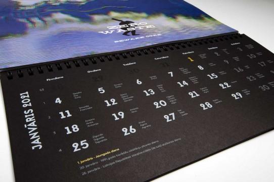 Производство календарей 2021