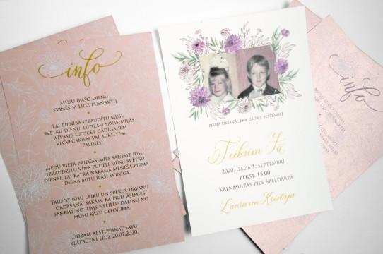 свадебных приглашений Изготовление