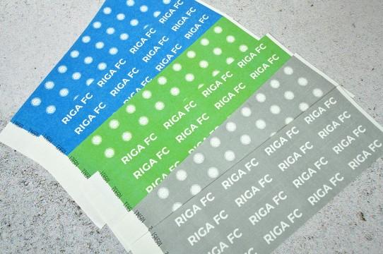 Печать бумажных браслетов