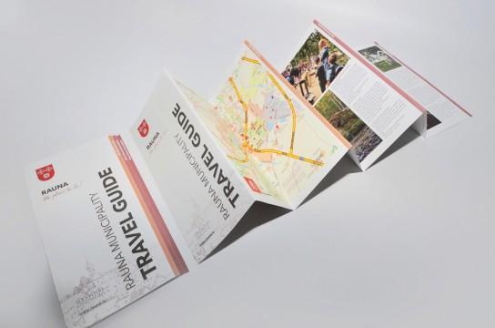 Печать рекламного буклета