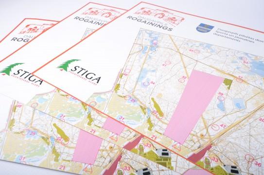 Orientēšanās kartes druka