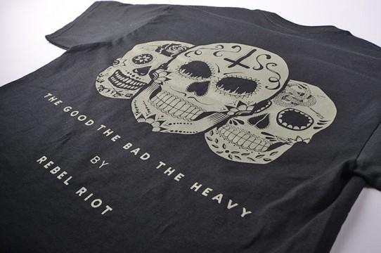 Печать на рубашках трафаретной печатью